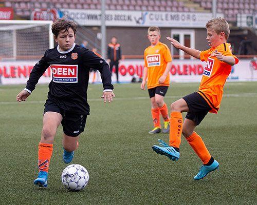 Deen Cup: twee leuke wedstrijden op zondag ochtend!