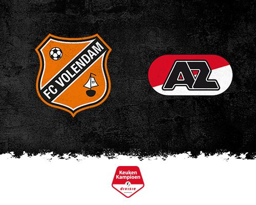 FC Volendam begint tegen Jong AZ aan drieluik met beloftenteams