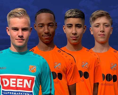 Jeugdspelers FC Volendam uitgenodigd voor selectiewedstrijden