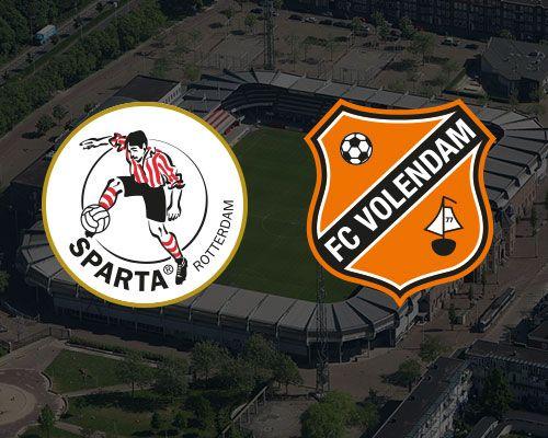 Informatie kaartverkoop Sparta Rotterdam - FC Volendam