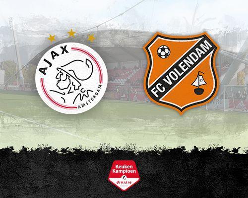 Informatie kaartverkoop Jong Ajax - FC Volendam